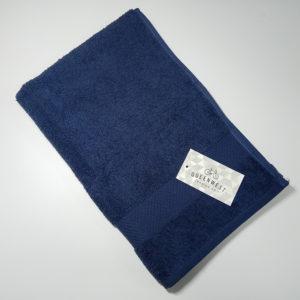 Полотенце махровое QuenWest синее  Полотенца > 40*70 от 1 ед