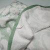 Полотенце жаккард Nanette зеленое 2 Постельный комплект