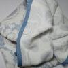 Полотенце жаккард Nanette голубое 2 Постельный комплект