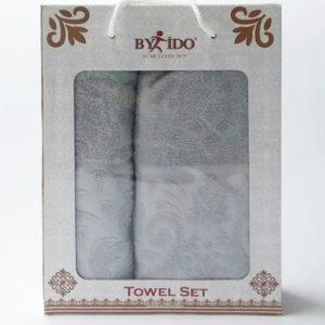 Набор полотенец Gakkard grey  Полотенца > Наборы полотенец