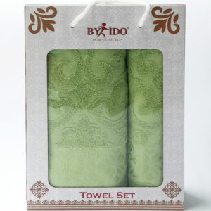 Набор полотенец Gakkard green  Полотенца > Наборы полотенец