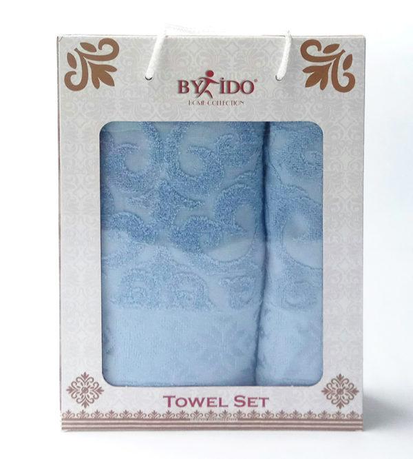 Набор полотенец Gakkard blue  Полотенца > Наборы полотенец