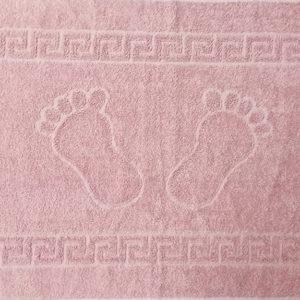 Полотенце махровое для ног лиловое (Турция)  Полотенца > Полотенца для ног