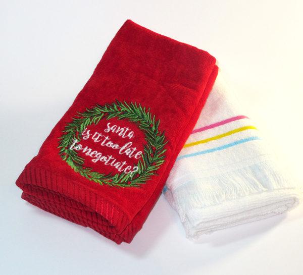 Набор полотенец НГ №4  Кухонные полотенца