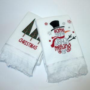 Набор полотенец НГ №6  Кухонные полотенца