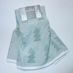 Набор полотенец 50*70 (2шт) Елочка  Кухонные полотенца