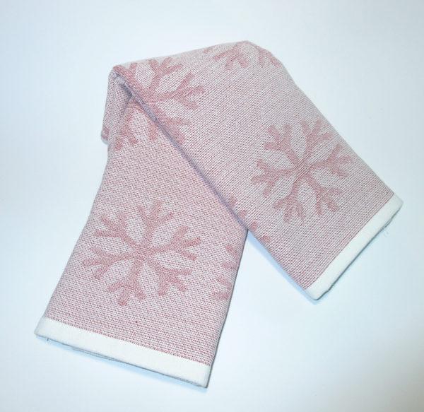 Набор полотенец Снежинки (2 шт)  Кухонные полотенца