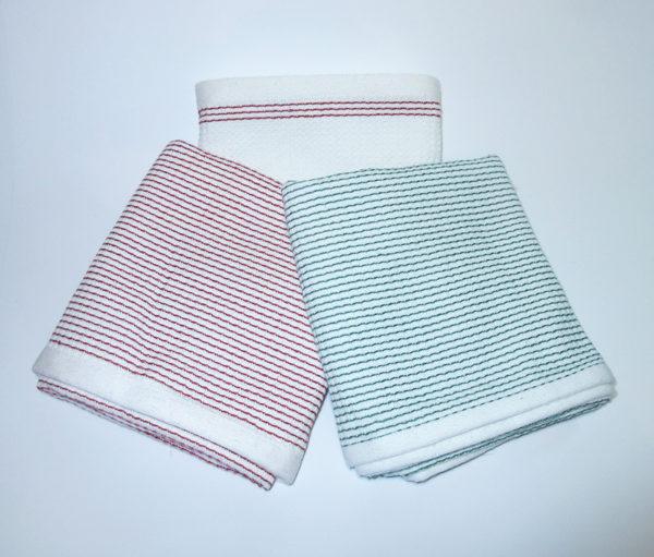Набор вафельных полотенец №3 (3 шт)  Кухонные полотенца