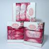 Набор полотенец Lovely розов. (3 шт)  Кухонные полотенца
