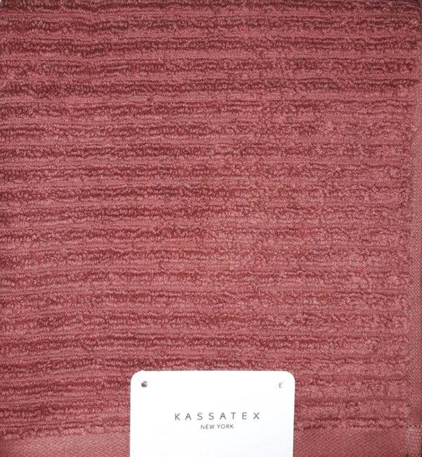 Полотенце махровое Kassatex bordo  Полотенца > 40*70 от 1 ед