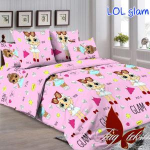 Комплект постельного белья LOL glam  ПОСТЕЛЬНОЕ БЕЛЬЕ И ТОВАРЫ ДЛЯ ДЕТЕЙ > 1.5-спальные 160х220