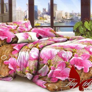 Комплект постельного белья LXL491  ПОСТЕЛЬНОЕ БЕЛЬЕ ТМ TAG > Евро > Поликоттон 3D