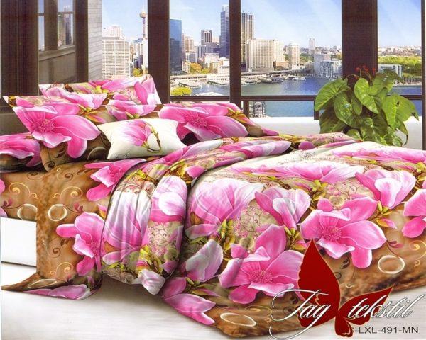Комплект постельного белья LXL491  ПОСТЕЛЬНОЕ БЕЛЬЕ ТМ TAG > 2-спальные > Поликоттон 3D