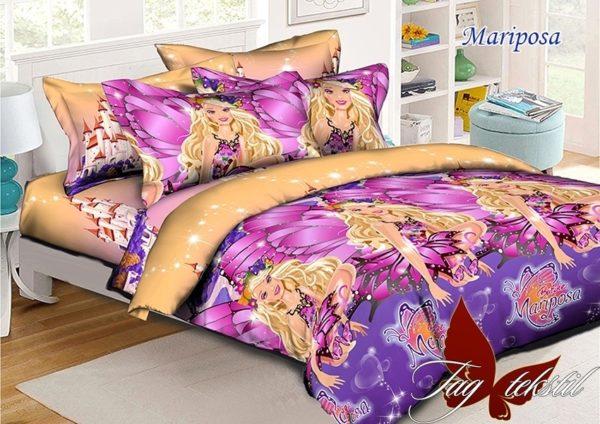 Комплект постельного белья Mariposa  ПОСТЕЛЬНОЕ БЕЛЬЕ И ТОВАРЫ ДЛЯ ДЕТЕЙ > 1.5-спальные 160х220