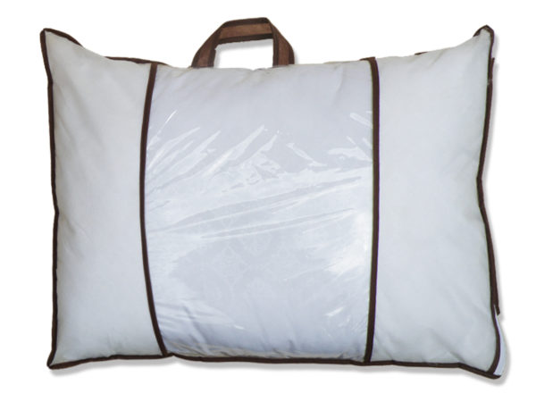 Подушка лебяжий пух 50х70 1 Постельный комплект
