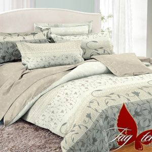 Комплект постельного белья с компаньоном PC054  ПОСТЕЛЬНОЕ БЕЛЬЕ ТМ TAG > Семейные > Поплин