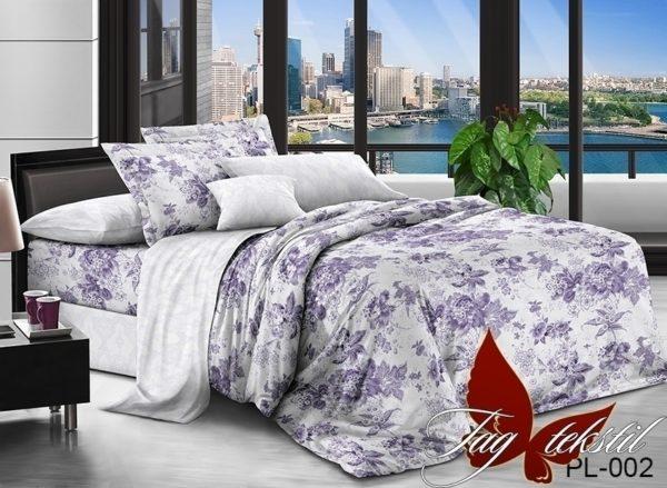 Комплект постельного белья с компаньоном PL002  ПОСТЕЛЬНОЕ БЕЛЬЕ ТМ TAG > Семейные > Поплин