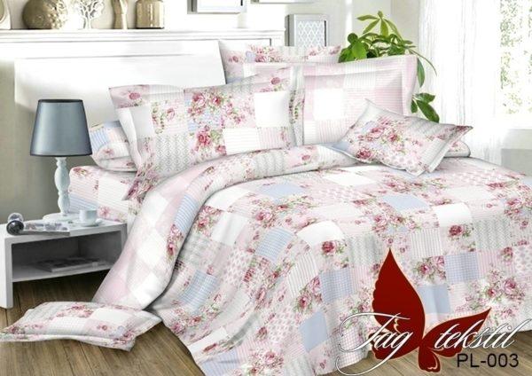 Комплект постельного белья с компаньоном PL003  ПОСТЕЛЬНОЕ БЕЛЬЕ ТМ TAG > 1.5-спальные > Поплин