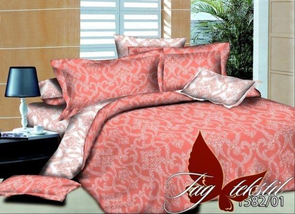 Комплект постельного белья семейный PL1582-01  ТОВАРЫ СО СКИДКАМИ