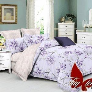 Комплект постельного белья с компаньоном PL2053  ПОСТЕЛЬНОЕ БЕЛЬЕ ТМ TAG > Семейные > Поплин