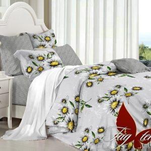 Комплект постельного белья с компаньоном PL5804  ПОСТЕЛЬНОЕ БЕЛЬЕ ТМ TAG > Семейные > Поплин