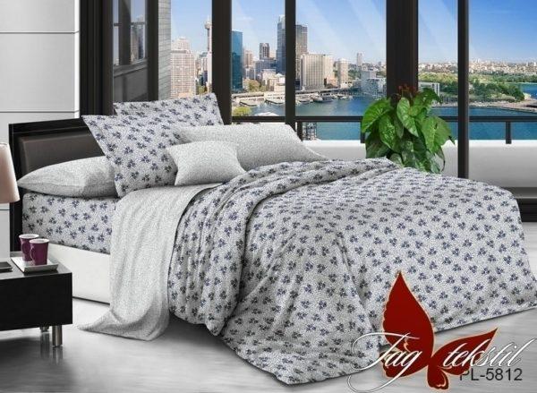 Комплект постельного белья с компаньоном PL5812  ПОСТЕЛЬНОЕ БЕЛЬЕ ТМ TAG > Семейные > Поплин