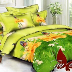 Комплект постельного белья PS-B233  ПОСТЕЛЬНОЕ БЕЛЬЕ ТМ TAG > Евро > Полисатин 3D