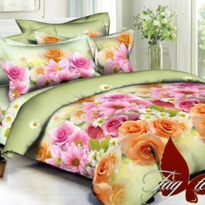 Комплект постельного белья PS-B5692  ПОСТЕЛЬНОЕ БЕЛЬЕ ТМ TAG > Евро > Полисатин 3D