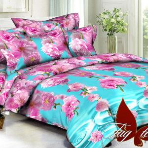 Комплект постельного белья PS-BL078  ПОСТЕЛЬНОЕ БЕЛЬЕ ТМ TAG > Семейные > Полисатин 3D