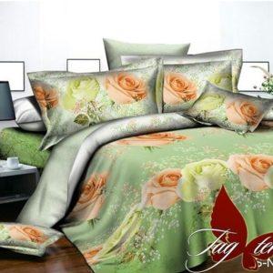 Комплект постельного белья PS-NZ 2482  ПОСТЕЛЬНОЕ БЕЛЬЕ ТМ TAG > Евро > Полисатин 3D