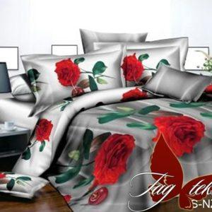 Комплект постельного белья PS-NZ 2486  ПОСТЕЛЬНОЕ БЕЛЬЕ ТМ TAG > Семейные > Полисатин 3D