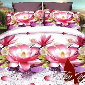 Комплект постельного белья PS-NZ1937  ПОСТЕЛЬНОЕ БЕЛЬЕ ТМ TAG > Семейные > Полисатин 3D