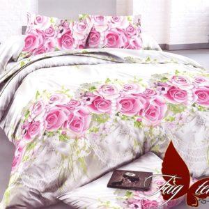 Комплект постельного белья PS-NZ1939  ПОСТЕЛЬНОЕ БЕЛЬЕ ТМ TAG > 2-спальные > Полисатин 3D