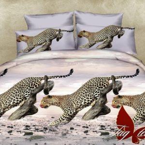 Комплект постельного белья PS-NZ1942  ПОСТЕЛЬНОЕ БЕЛЬЕ ТМ TAG > 2-спальные > Полисатин 3D