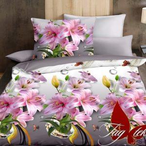 Комплект постельного белья PS-NZ1945  ПОСТЕЛЬНОЕ БЕЛЬЕ ТМ TAG > Семейные > Полисатин 3D