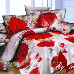 Комплект постельного белья PS-NZ2183  ПОСТЕЛЬНОЕ БЕЛЬЕ ТМ TAG > Семейные > Полисатин 3D