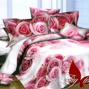 Комплект постельного белья PS-NZ2184  ПОСТЕЛЬНОЕ БЕЛЬЕ ТМ TAG > 1.5-спальные > Полисатин 3D