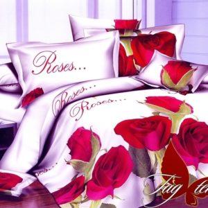 Комплект постельного белья PS-NZ2189  ПОСТЕЛЬНОЕ БЕЛЬЕ ТМ TAG > Семейные > Полисатин 3D
