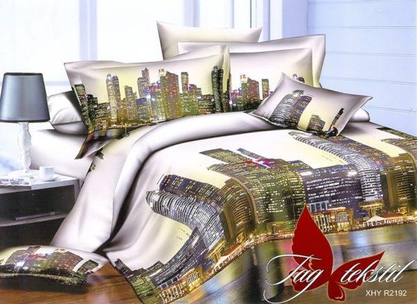 Комплект постельного белья PS-NZ2192  ПОСТЕЛЬНОЕ БЕЛЬЕ ТМ TAG > Семейные > Полисатин 3D