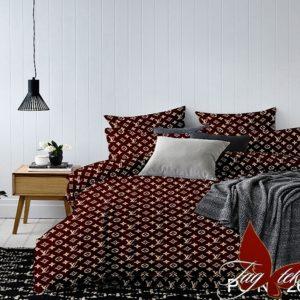 Комплект постельного белья PS-NZ2634  ПОСТЕЛЬНОЕ БЕЛЬЕ ТМ TAG > Семейные > Полисатин 3D