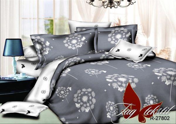 Комплект постельного белья с компаньоном R27802  ПОСТЕЛЬНОЕ БЕЛЬЕ ТМ TAG > 2-спальные > Ренфорс