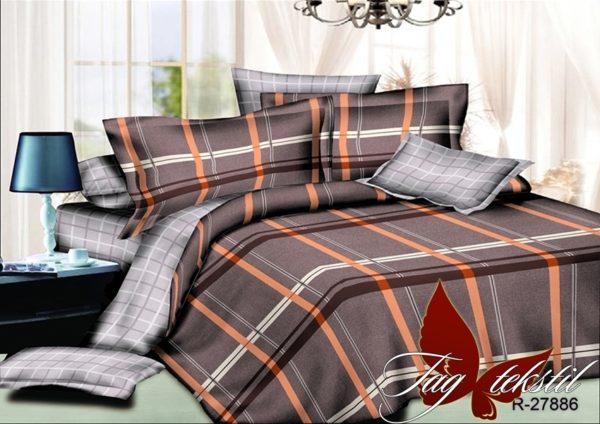 Комплект постельного белья с компаньоном R27886  ПОСТЕЛЬНОЕ БЕЛЬЕ ТМ TAG > 2-спальные > Ренфорс