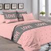 Комплект постельного белья с компаньоном R4173  ПОСТЕЛЬНОЕ БЕЛЬЕ ТМ TAG > Семейные > Ренфорс