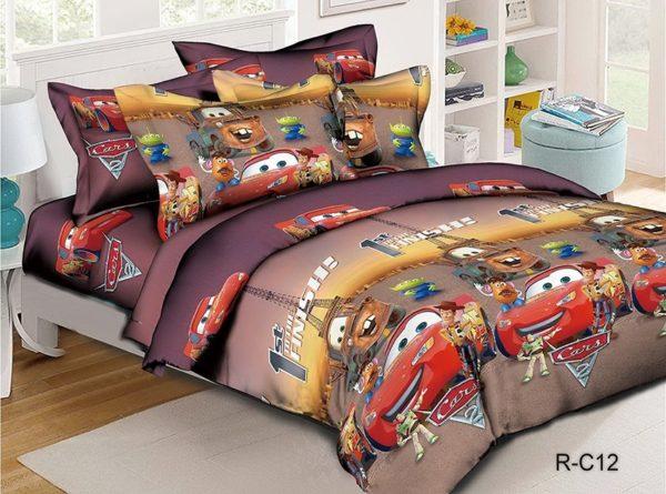 Комплект постельного белья R-C12  ПОСТЕЛЬНОЕ БЕЛЬЕ И ТОВАРЫ ДЛЯ ДЕТЕЙ > 1.5-спальные 160х220
