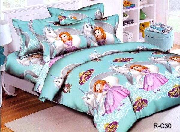 Комплект постельного белья R-C30  ПОСТЕЛЬНОЕ БЕЛЬЕ И ТОВАРЫ ДЛЯ ДЕТЕЙ > 1.5-спальные 160х220