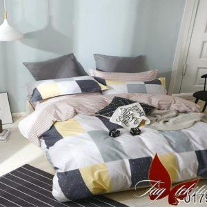 Комплект постельного белья с компаньоном R0179  ПОСТЕЛЬНОЕ БЕЛЬЕ ТМ TAG > Семейные > Ренфорс