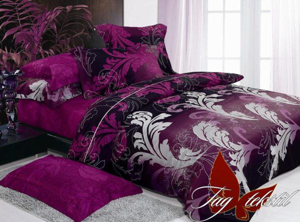 Комплект постельного белья с компаньоном R7054  ПОСТЕЛЬНОЕ БЕЛЬЕ ТМ TAG > 1.5-спальные > Ренфорс