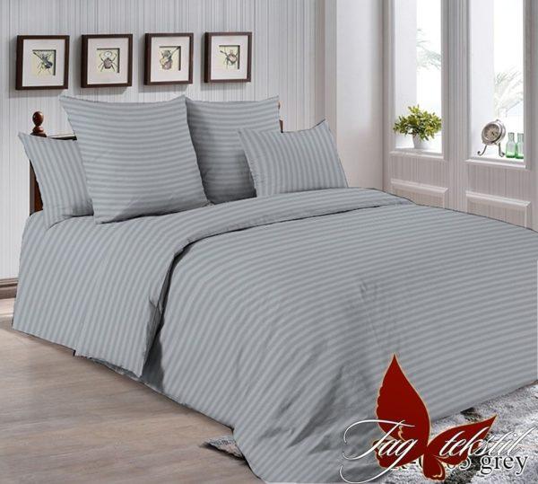 Комплект постельного белья R0905grey  ПОСТЕЛЬНОЕ БЕЛЬЕ ТМ TAG > 2-спальные > Ренфорс