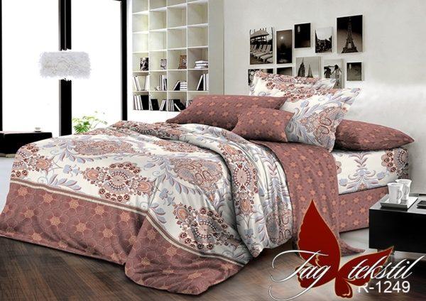 Комплект постельного белья с компаньоном R1249  ПОСТЕЛЬНОЕ БЕЛЬЕ ТМ TAG > 2-спальные > Ренфорс