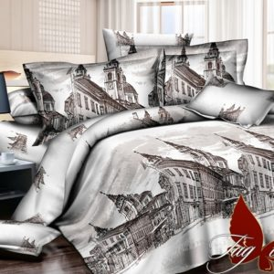 Комплект постельного белья R2023  ПОСТЕЛЬНОЕ БЕЛЬЕ ТМ TAG > 2-спальные > Ренфорс
